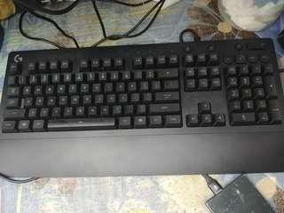 Logitech g213 電競keyboard 99%new 有盒