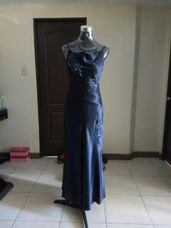 For Rent Blue Formal Dress