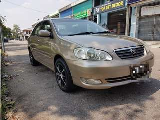 Toyota Altis 1.8 New facelift