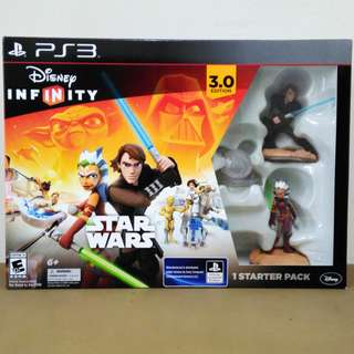 PS3 GAME Star Wars Disney Infinity 3.0 Starter Pack SET