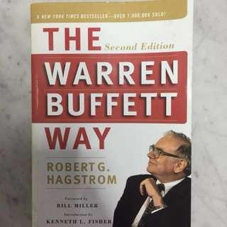 The Warren Buffett Way by Robert G Hagstrom