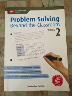 Used P2 assessment (Problem Solving, English composition writing)