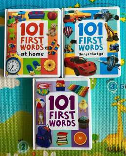 101 First Words Toddler Books