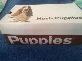 Jual sepatu kulit Hush puppies original, kondisi mulus, jarang pakai.