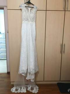 Customade Wedding Gown for sale