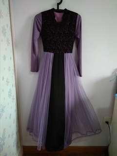 Lilac Dress/Jubah