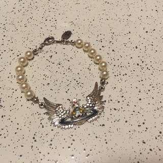 Vivienne Westwood珍珠手鏈