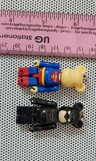 Batman & Superman 75% Bearbrick