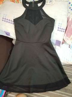 Material Girl black dress