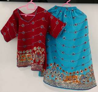 Indian apparel for 3-4 years old girl