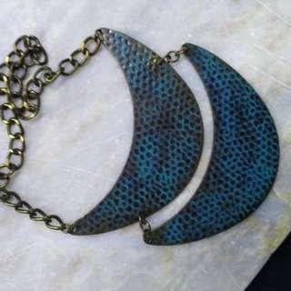 Blue Cute Necklace