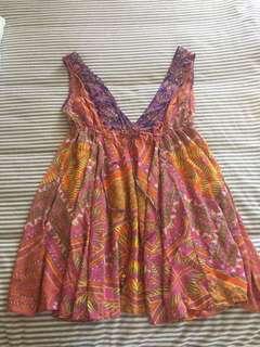 Camilla Aztec V Neck Dress