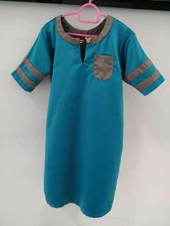 Custom made jubah for 1-2 years old boy