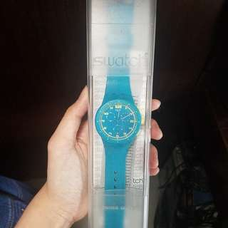 Swatch Watch - Turquoise