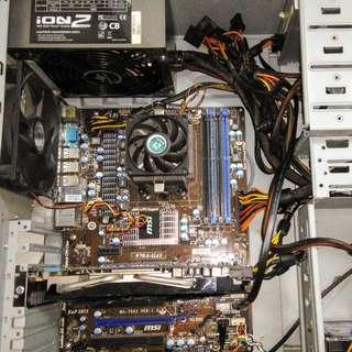 AMD DESKTOP GAMING PC