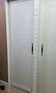 木紋鋁趟門