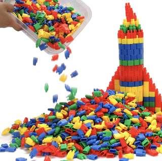 Rocket Building Blocks Rocket puzzle 250pieces /Busy Bag  BN