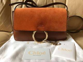 100% Real Chloe Faye Bag