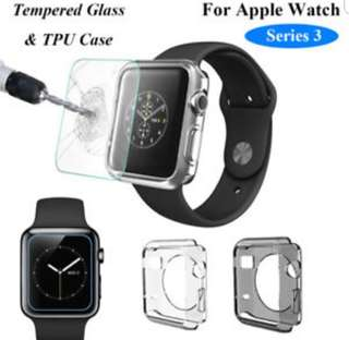 New Japan Instock - Apple Iwatch Casing with temepred