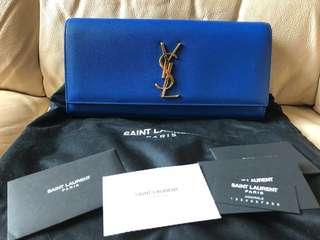 100% Real YSL Saint Laurent Clutch Bag