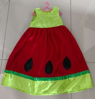 Fancy watermelon dress