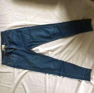 🚚 原色牛仔藍褲子 m號
