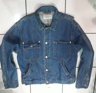 POLO RALPH LAUREN Denim Jacket Made in Malaysia
