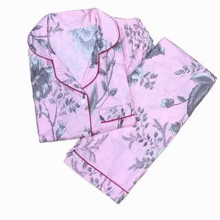 Pink silver piyama