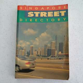 Singapore Street Directory (17th Edition)