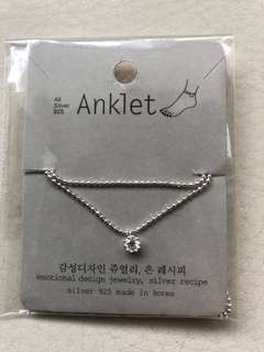 SALE! 925 Silver Anklet Made in Korea