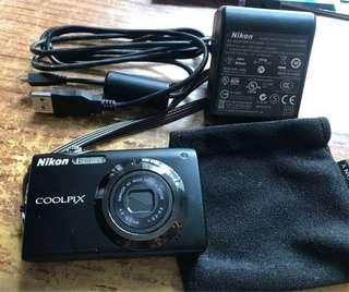 Nikon coolpix s3000 相機