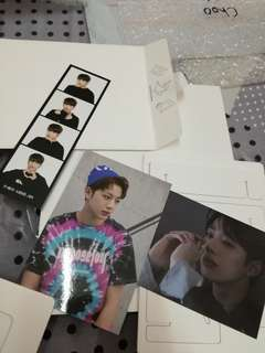 [WTT/WTS] Kuanlin & Woojin (photo frame; 4cut photo strip)