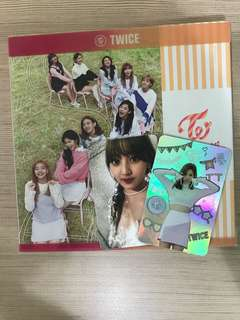 Twicecoaster Lane 1 Album Mina Momo Jihyo photocard