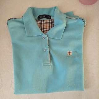 Burberry London women's polo T-shirt XL