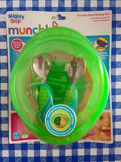 Munchkin Suction Bowl and Cutlery Set