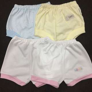 4pcs Celana Pendek Bayi