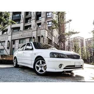 全額貸 2005年 TIERRA AERO 白色 1.6L 頂級 天窗 便宜代步車 低利率 信用不良小白皆可辦 可履約保證無重大事故