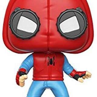 Funko Pop Spiderman Homecoming Homemade suit Vinyl Bobble Head