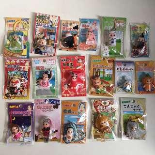 Kewpie 丘比bb 沙律bb 絕版 地域限定 匙扣 新品 未開封 (非sonny angel, blythe)日本公仔 娃娃- Set A