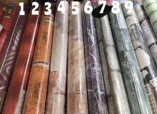 Adhesive Waterproof Wallpaper