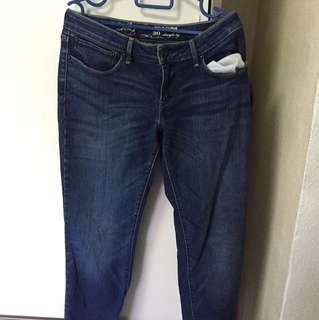 Bold curve 30 straight long jeans