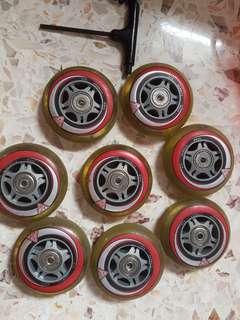 K2 rollerblade wheels