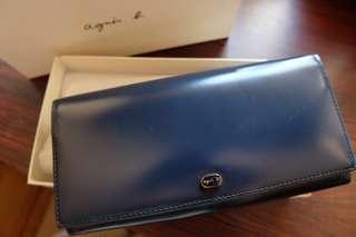 Agnes b wallet 全新正版銀包