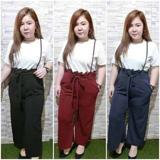 Overall plus size ; f@