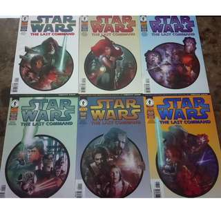 STAR WARS : THE LAST COMMAND #1-6 (Dark Horse Comics)