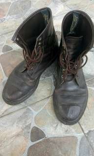 Handmade Boots Genuine Leather Big Size