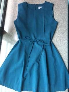 墨綠色背心裙