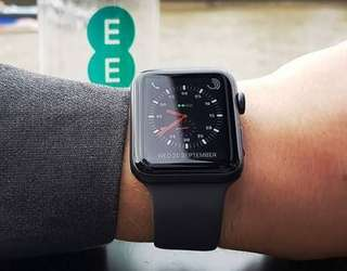 Apple Watch Series 3 42mm Black Bisa Kredit Tanpa Cc