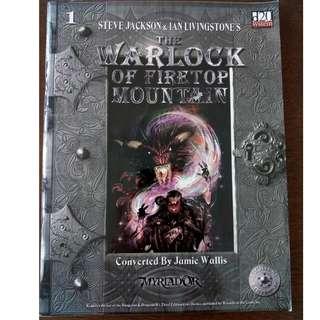 Fighting Fantasy D20 System Myriador, Warlock of Firetop Mountain