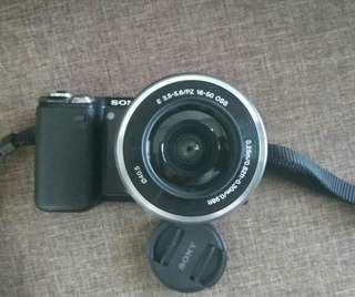 Sony touch screen interchangable lens camera :)